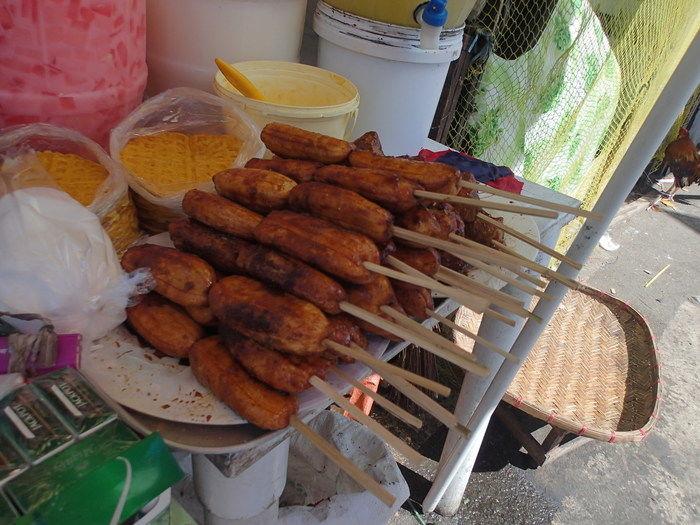 フィリピンのバナナキュー