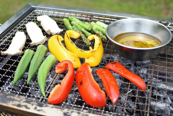 焼き野菜のバーニャカウダの作り方