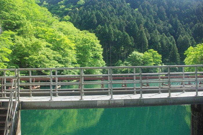 水力発電用の白丸ダム