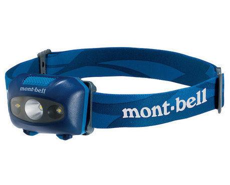 モンベルのヘッドランプ
