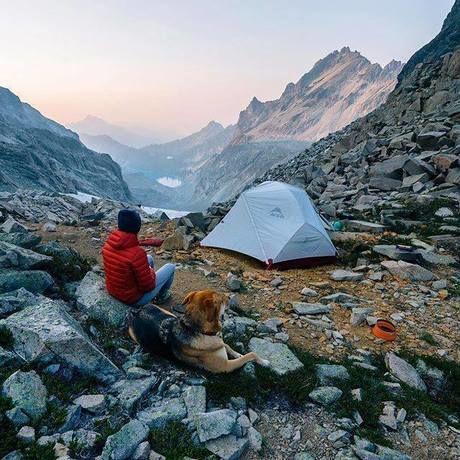 コンパクトなMSRのテント