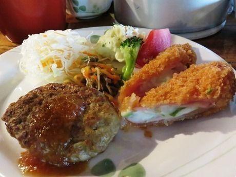 西穂高岳の山後はで食べれるご飯