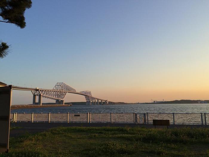 東京湾と橋