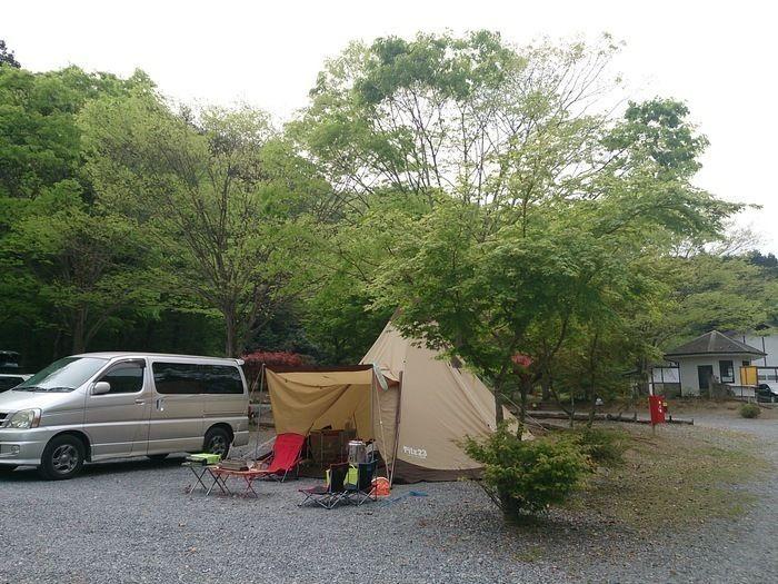 毛呂山町ゆずの里オートキャンプ場のサイト