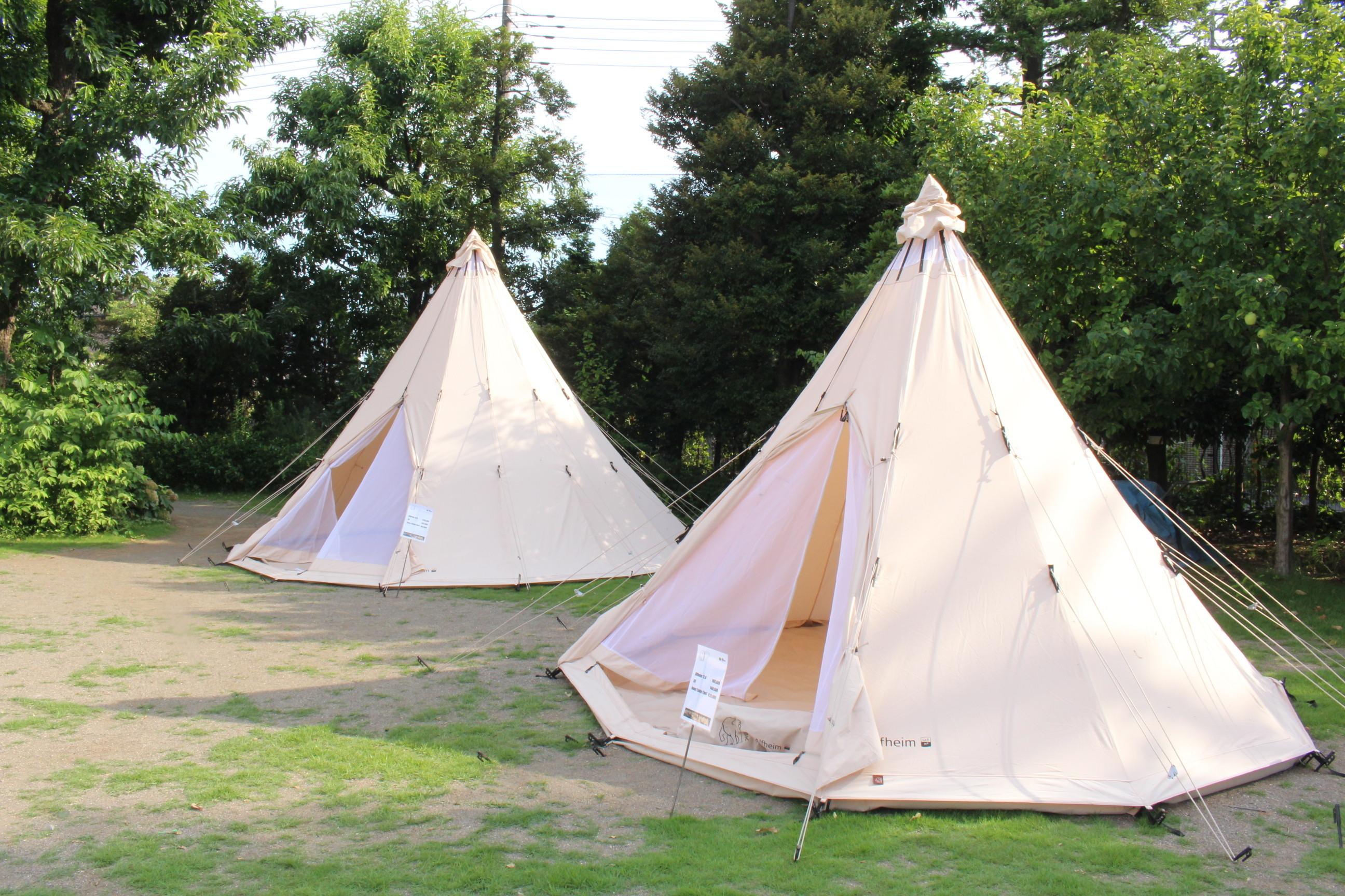 「シロクマ」マークが大人気!NORDISK(ノルディスク)テントを持っておしゃれキャンプに行こう!