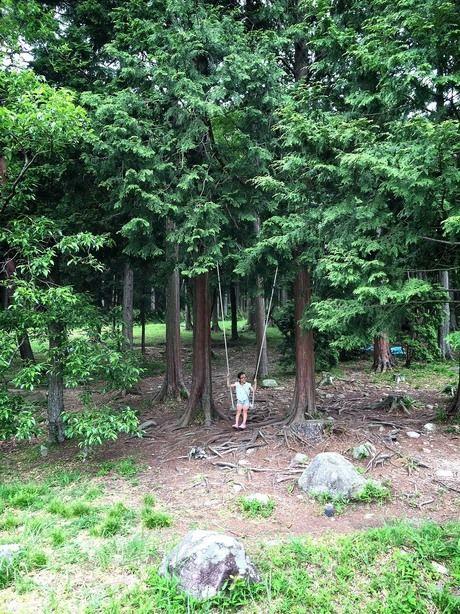 グリム冒険の森のハイジのブランコ
