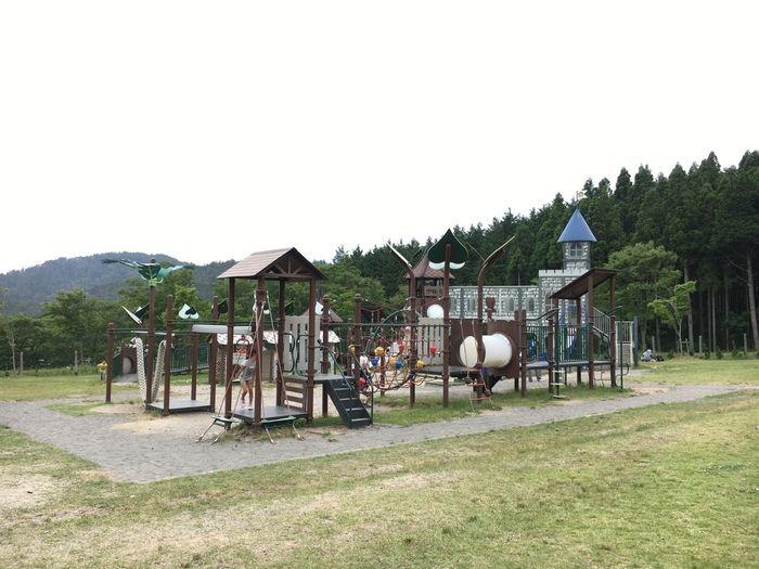 グリム冒険の森の大型遊具