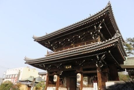 中山寺の門