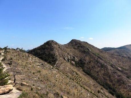 播磨アルプスの山頂