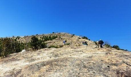 播磨アルプスの百間岩