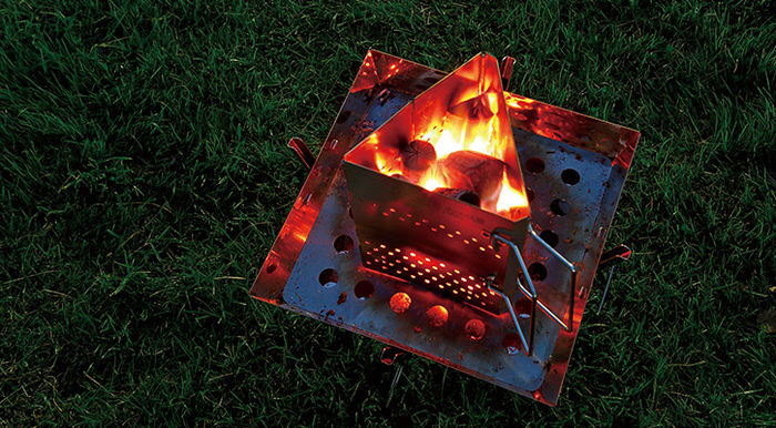 火のついたチャコスタ