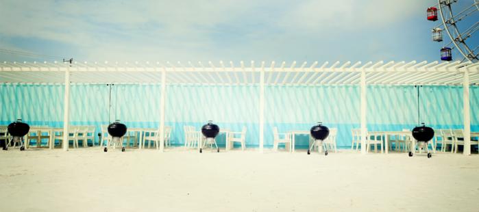 THE BEACH 77の様子