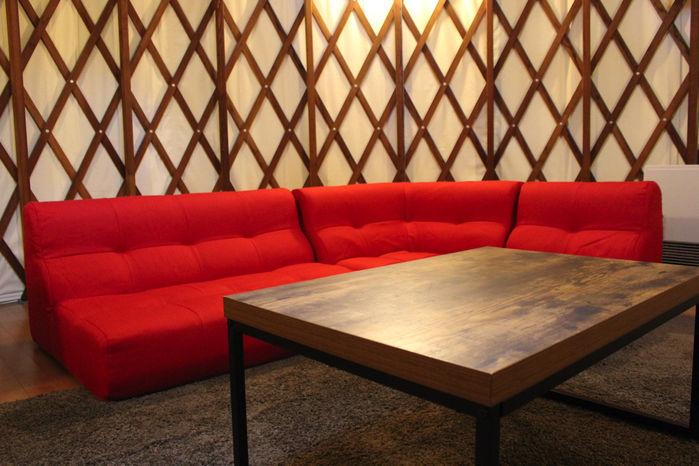 マッシュルームパオ TAKIBIのソファー