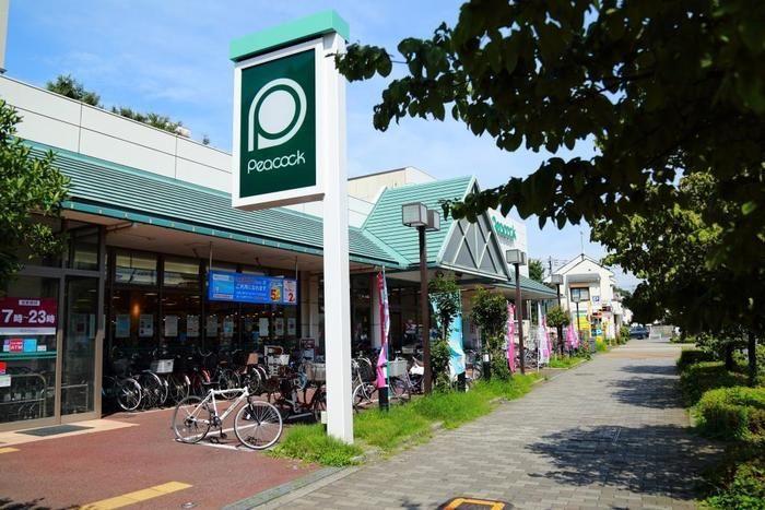 小金井公園の近くにあるスーパー