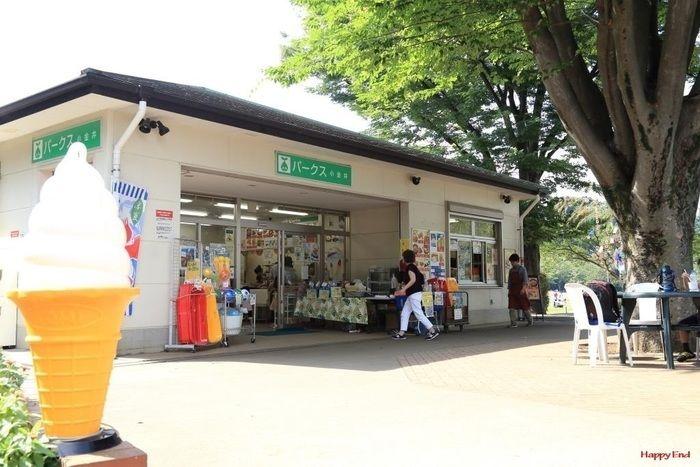 小金井公園の売店「パークス」