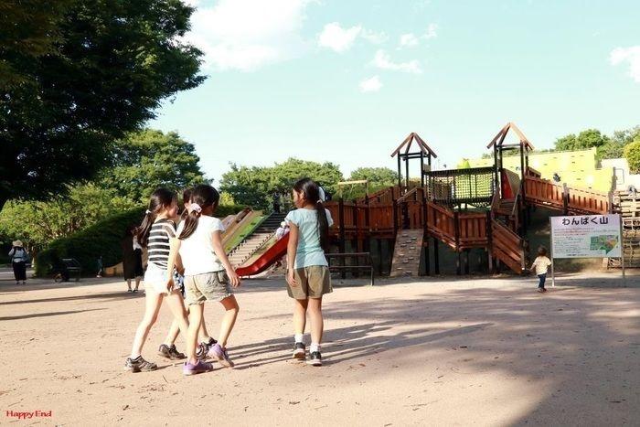 小金井公園名物「わんぱく山」