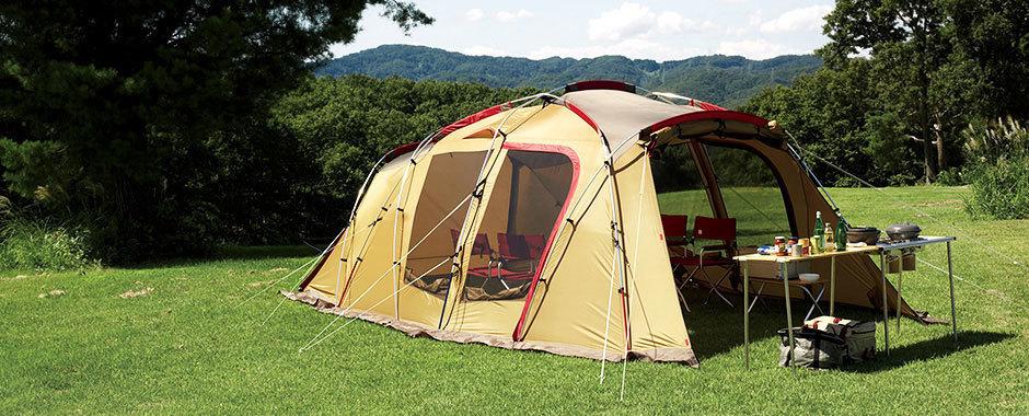 家族でキャンプなら絶対おすすめ!ツールームテントの特徴と魅力