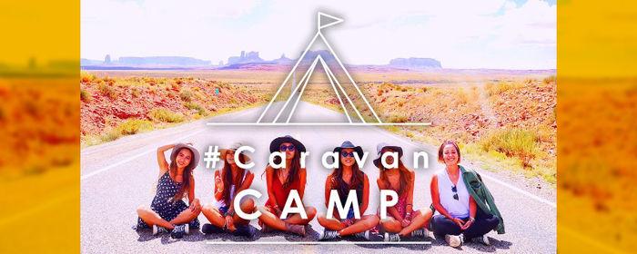 Caravan CAMPの広告