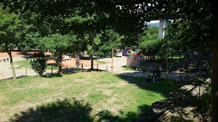 長瀞オートキャンプ場の女子専用キャンプサイト