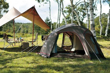 スノーピークのテントとタープ
