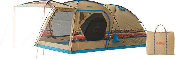 ロゴスのナバホ柄のテント