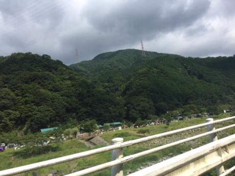 ウェルキャンプ西丹沢の道中
