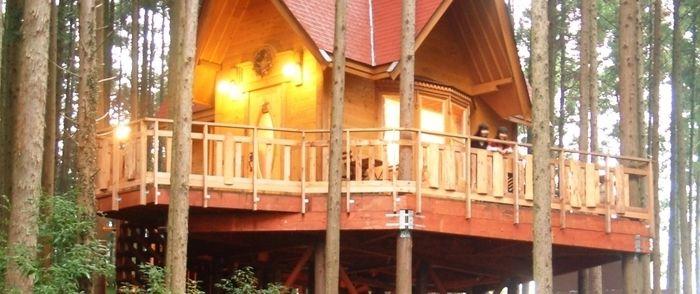サンタヒルズオートキャンプ場のコテージ