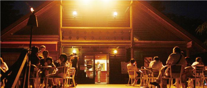 成田ゆめ牧場ファミリーオートキャンプ場の外観