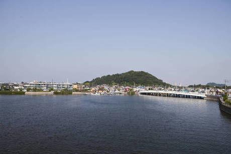 野島公園から見た海
