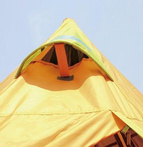 テントの天窓