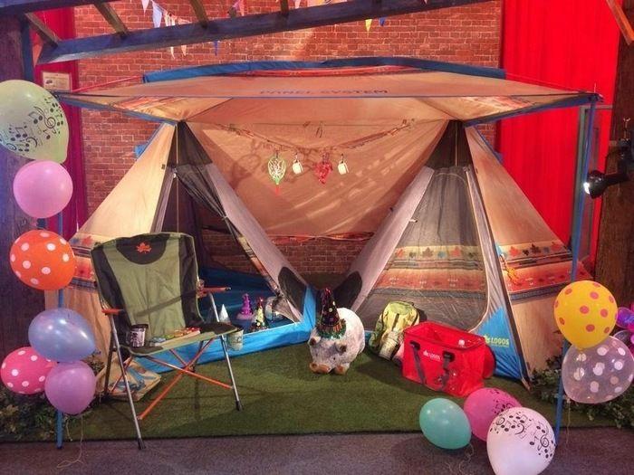 ロゴスのテントのパネル