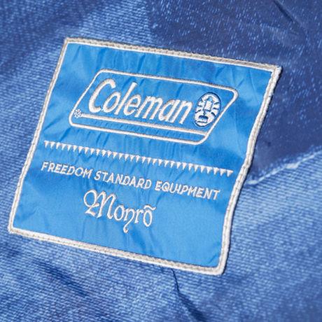 ColemanとMonroのコラボ商品についているタグ