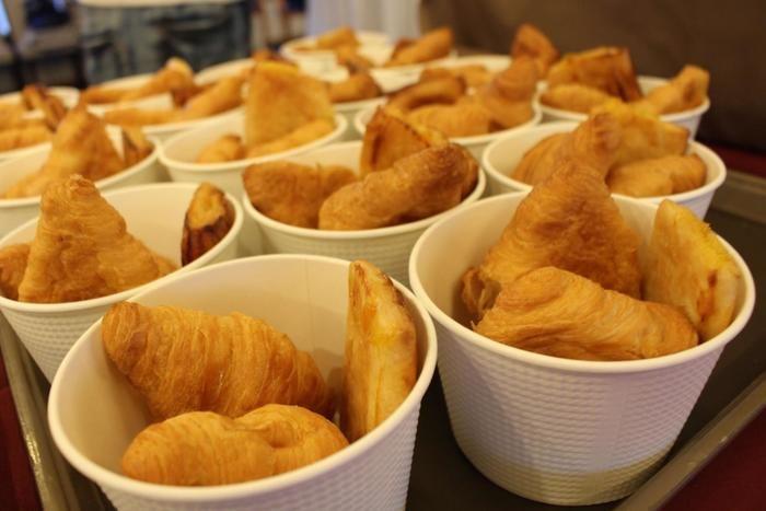 クルージング船の朝食