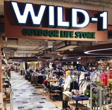 WILD-1 デックス東京ビーチ店の外観