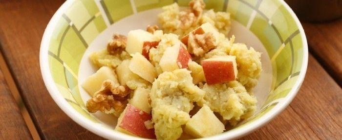 さつまいもとリンゴのサラダ