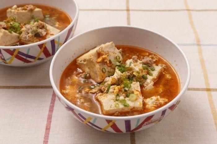 麻婆たまごスープ
