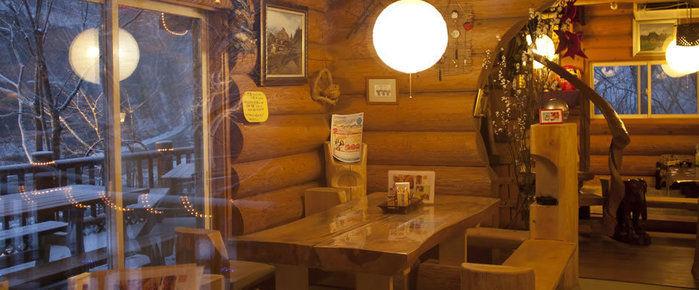 群馬県・桐生にあるイタリアンレストラン ろぐていの店内