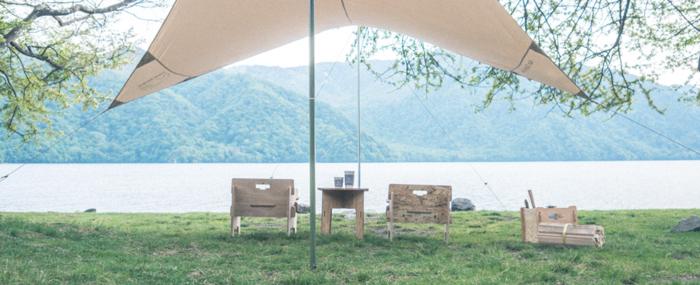 YOKAで作られた美しいキャンプサイト