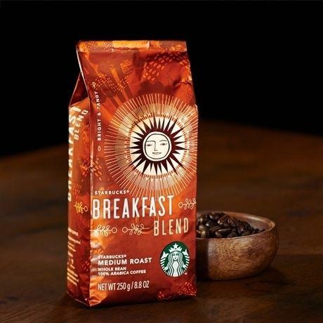 スターバックスのコーヒー豆、ブレックファーストブレンド