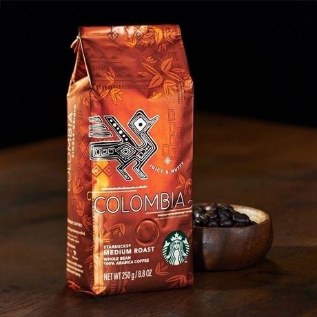 スターバックスのコーヒー豆、コロンビア