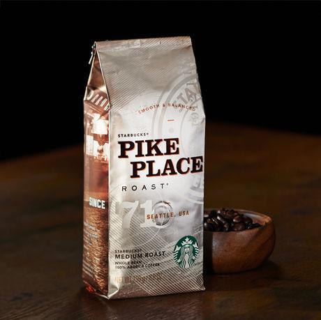 スターバックスのコーヒー豆、パイクプレイス® ロースト