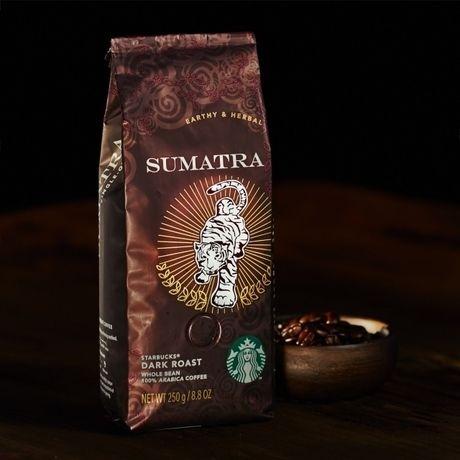スターバックスのコーヒー豆、スマトラ