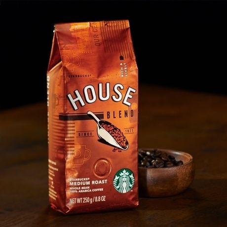 スターバックスのコーヒー豆、ハウスブレンド