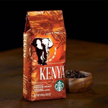 スターバックスのコーヒー豆、ケニア
