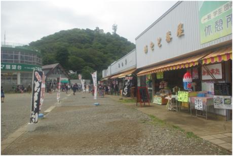 筑波山の売店