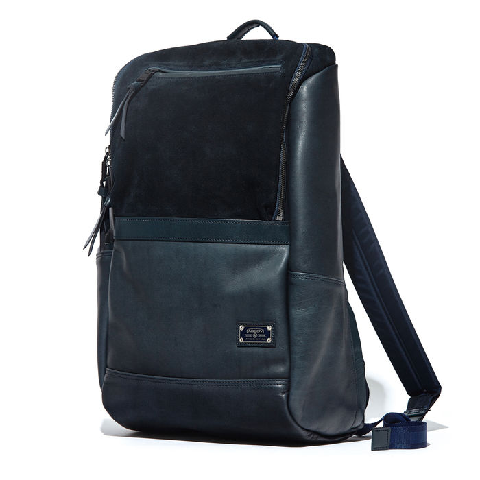 AS2OV (アッソブ) LEATHER COMBINATION - BACK PACK