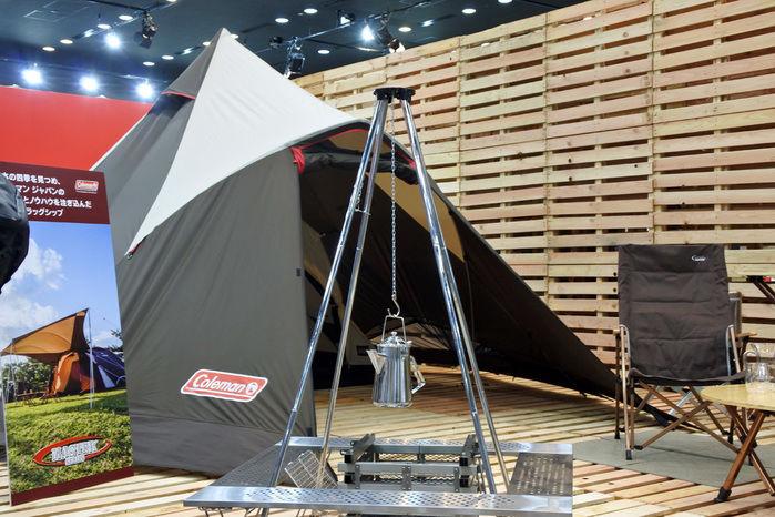 コールマンのテント、ウェザーマスター 4S クレスト