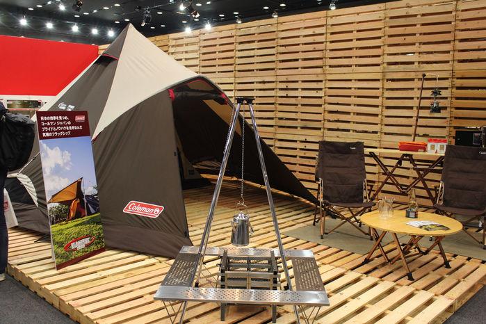 コールマンのテント・タープ