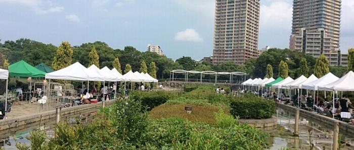 千葉県立海浜幕張海浜公園のにぎわい広場