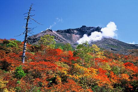 (関東/栃木県)那須高原・茶臼岳の紅葉